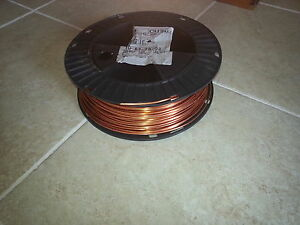 100 Ft Of 8 Gauge awg bare Solid Copper Wire Art Craft Jewelery Scrap