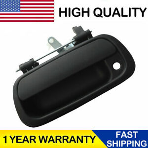 For 2000 2006 Toyota Tundra Rear Tail Gate Tailgate Handle Truck Pickup Black