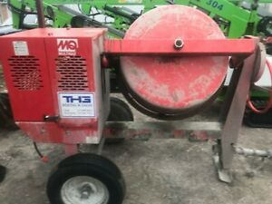 Multiquip Mc94se Electric Concrete Mixer