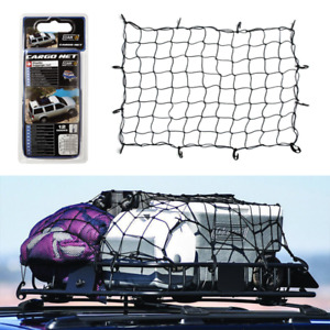 Luggage Elasticity Cargo Cover Net Roof Car Truck Web Bed Tie Down 12 Hooks