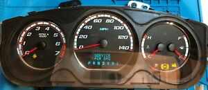 2007 Chevrolet Monte Carlo Used Dashboard Instrument Cluster For Sale