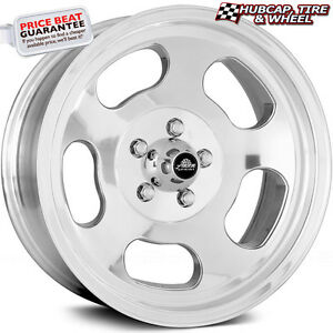 American Racing Vna69 Ansen Sprint Polished 15 X7 Custom Wheel Rims Set Of 4