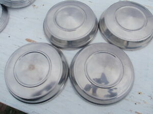 1963 64 Mopar Dog Dish Hubcaps Hub Caps Max Wedge Dodge Plymouth Hemi Belvedere