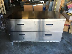 Delfield Ucd4464n a8 Undercounter 4 Drawer Refrigerator