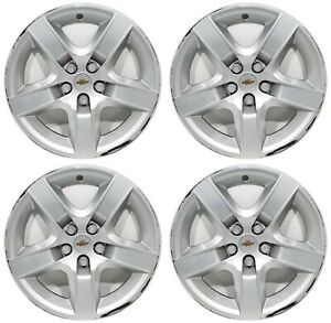 4 Oem 2009 Chevy Malibu 17 Wheel Covers Hubcaps Used Cores 3276