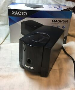 X acto Magnum Electric Pencil Sharpener Black