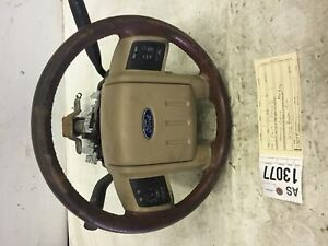 2011 2013 Ford F350 F450 F550 King Ranch Steering Wheel And Column Tag As13077