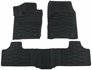 For 2013 2014 Jeep Grand Cherokee Black All weather Floor Mat