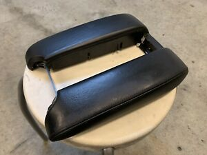 Bmw E39 5 Series M5 540i 525i Black Center Console Armrest Leather