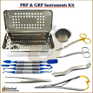 Dental Prf Grf Box Set Implant Surgery Process Platelet Rich Fabrin Surgery Tool