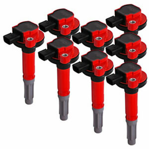 Msd Msd 82488 Mustang Blaster Coil Pack Set Of Eight 5 0l 2011 2015