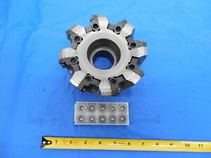 Hitachi Nyhl083 6 Face Mill 8 Insert Pockets Milling Cutter Machine Tooling