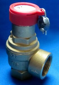 Safety Valve m17211 1 2 X 3 4 5 4 Bar For Maestrelli Dry Cleaning Machine