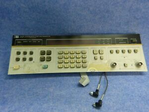 Hp 3325a Synthesizer Function Generator Front Panel