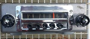 Original Radio 1954 Ford Car Restored And Plays Strong 4bf Might Fit 1955 T bird