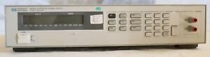 Agilent hp 6633a System Dc Power Supply 50v 2a 100w Option 020
