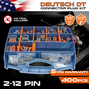 400 Pcs Deutsch Dt Connector Kit Pin Removal Tool