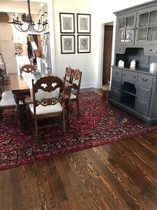 10x13 1940 S Gorgeous Authentic Hand Knotted Antique Wool Khorasan Persian Rug