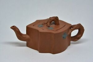 Vintage Chinese Yixing Pottery Teapot 2 5 Inches Tall
