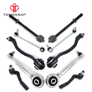 10 Pc Suspension Kit For Mercedes Benz C Clk Models Upper Lower Control Arms
