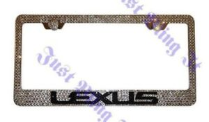 Lexus F Sport Custom Bling Crystal License Plate M w Swarovski Elements