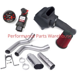 Banks Powerpack System 17 19 6 6l Gm Duramax L5p 98hp Intake Exhaust Derringer