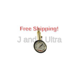 Accu Gage S60xa 5 60 Psi Swivel Angle Chuck Dial Tire Pressure Gauge With B