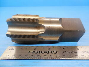 2 1 4 12 Bottoming Tap 6 Flute 2 25 12 0 Usa Made Machine Shop Tooling Sharp