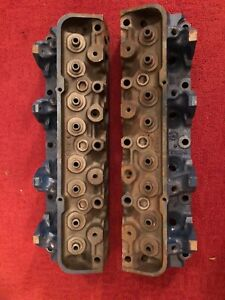 1967 Shelby Gt500 428 C7ae a Cylinder Heads