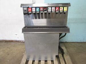 follett Hd Commercial Drop in Insert 10 Heads Soda ice Dispenser W ice Bin