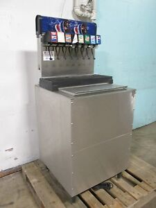 servend Di 2323 Commercial 8 Heads Free standing Soda Dispenser W pump Motor