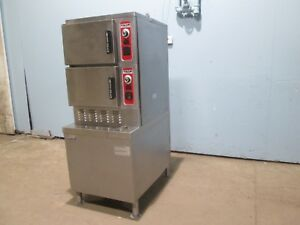 vulcan Hart Hd Commercial nsf Dbl Stacked Nat Gas Convection Steamer Ovens