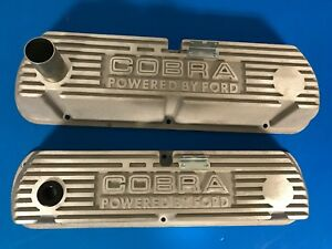Cobra Powered By Ford Aluminum Valve Covers