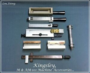 Kingsley Machine Accessories 4 inch Holders Hot Foil Stamping Machine