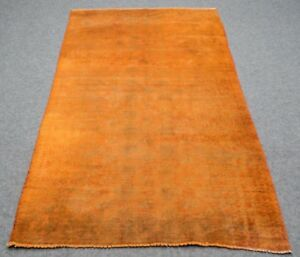 Overdyed Vintage Persian Bukhara 4 5 X8 3 Hand Knotted 100 Wool Rug Fk 897