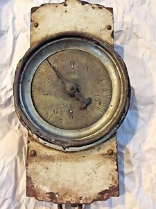 Antique Vintage Chatillon Hanging Scale Shabby Chic