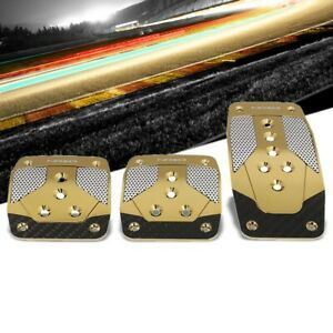 Nrg Nrg Pdl 400cg Brake Gas Clutch Manual Mt Race Foot Pedal Plates Cover Set