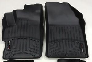 Weathertech Floorliner For Chevrolet Spark 2013 2015 1st Row Black