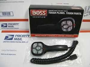 Boss Power V Hand Held Smart Touch 2 Plow Control New V Plow Part Msc09601
