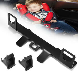 Latch Isofix Connector Car Seat Belt Buckle Bracket Kit For Child Safety Seat