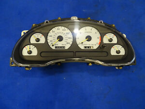 1994 1995 Ford Mustang Cobra Instrument Cluster 160 Mph Speedometer 139k Miles