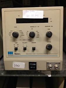 Hplc Detector Waters 430 Conductivity Detector