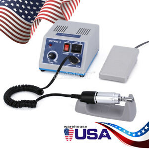 Dental Lab Motor Unit Electric Micromotor N3 35k Rpm E Type Handpiece Usa Stock