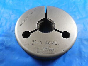 3 4 8 Acme Thread Ring Gage 75 Go Only Quality Inspection Tooling Taft peirce