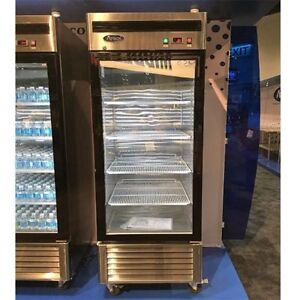 Atosa Mcf8705 22 Cu Ft Single Section Refrigerated Merchandiser Free Liftgate