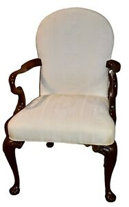 Vintage Southwood Traditional Style Upholstered Accent Chair