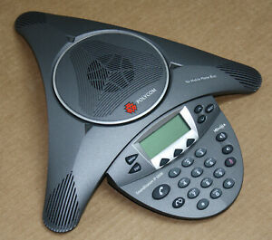 Polycom Soundstation Ip6000 Voip Conference Phone Poe 2201 15600 001 Very Clean