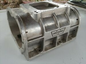 Vintage Small Weiand Blower Supercharger Housing Hot Rat Rod Gasser Dragster