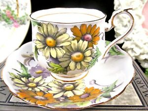 Royal Albert Tea Cup And Saucer Fotm Hand Painted Daisy Teacup This Is 4