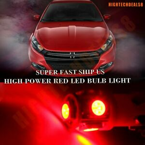 17x Red Car Led Lights Bulb For Mercedes Benz E Class 2009 2012 Interior Package